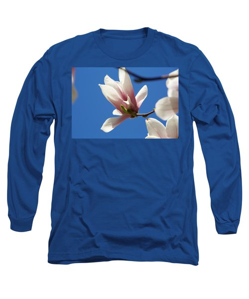 Magnolia Flower Long Sleeve T-Shirt
