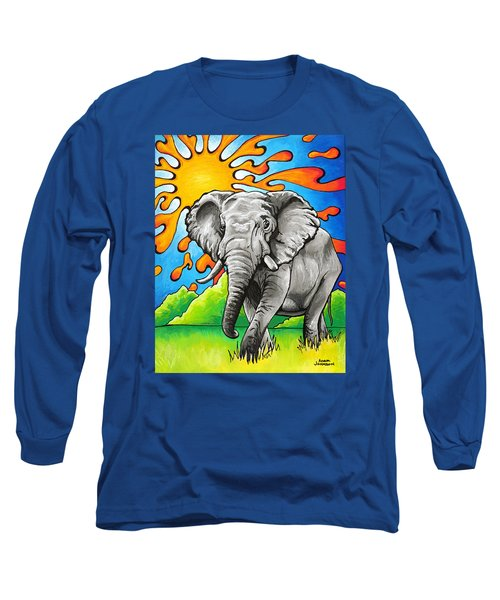 Majestic Elephant Long Sleeve T-Shirt