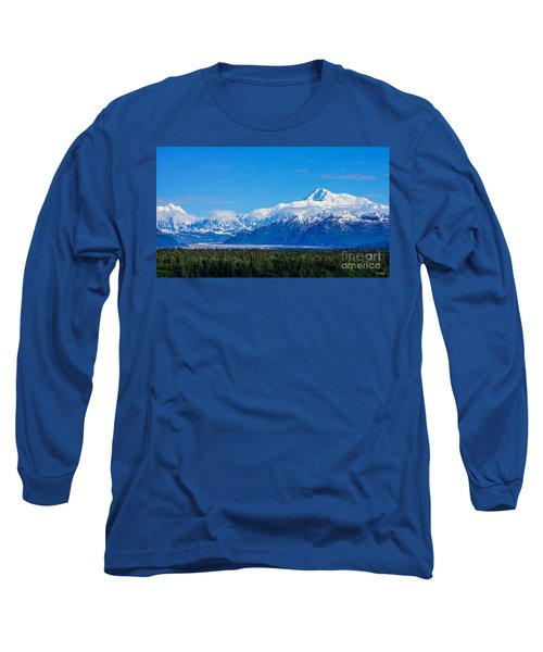 Majestic Mt Mckinley Long Sleeve T-Shirt by Jennifer White