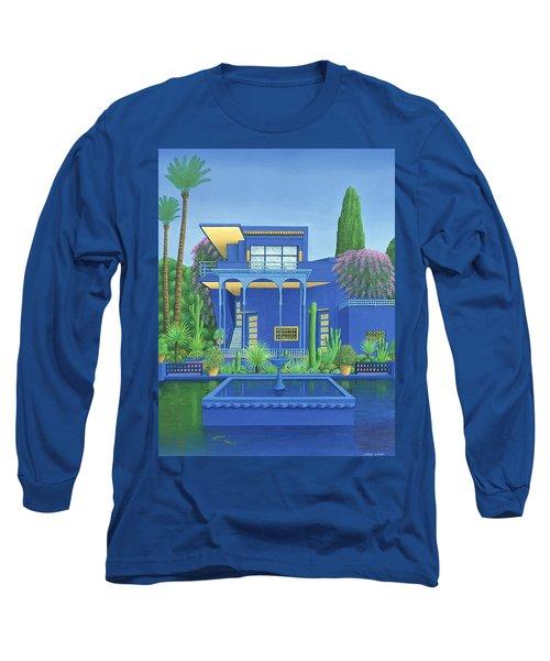 Majorelle Gardens, Marrakech Long Sleeve T-Shirt