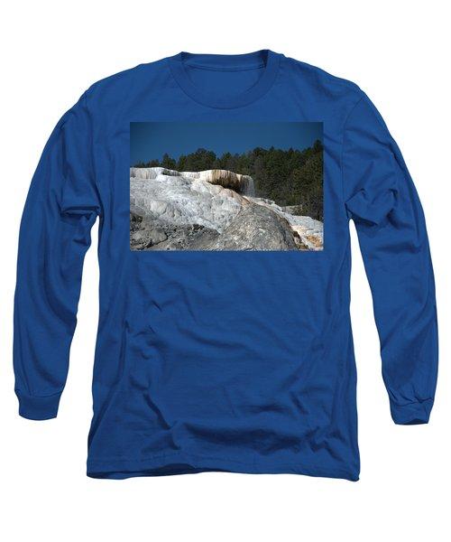 Mammoth Hot Springs 1 Long Sleeve T-Shirt