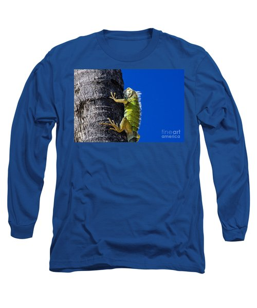 Man Is This Beach Crowded Long Sleeve T-Shirt