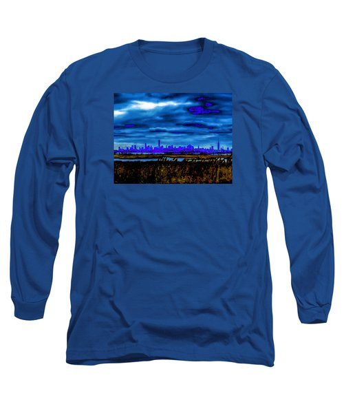Manhattan Project Long Sleeve T-Shirt by Michael Nowotny