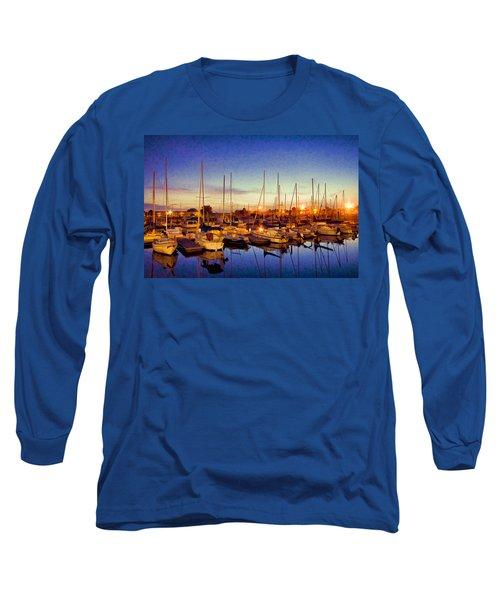 Marina Sunrise Long Sleeve T-Shirt