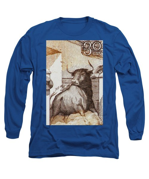 Matador 1 Long Sleeve T-Shirt by Andy Prendy