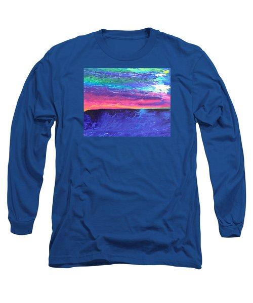 Maui Sunset Long Sleeve T-Shirt by Ralph White