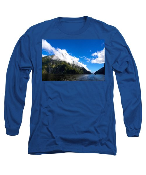 Long Sleeve T-Shirt featuring the photograph Milford Sound #2 by Stuart Litoff