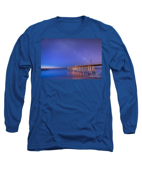 Milky Way Sunrise Long Sleeve T-Shirt
