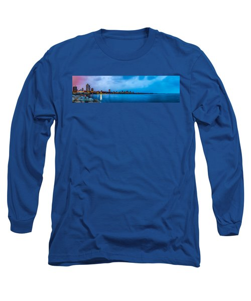 Milwaukee Skyline - Version 2 Long Sleeve T-Shirt