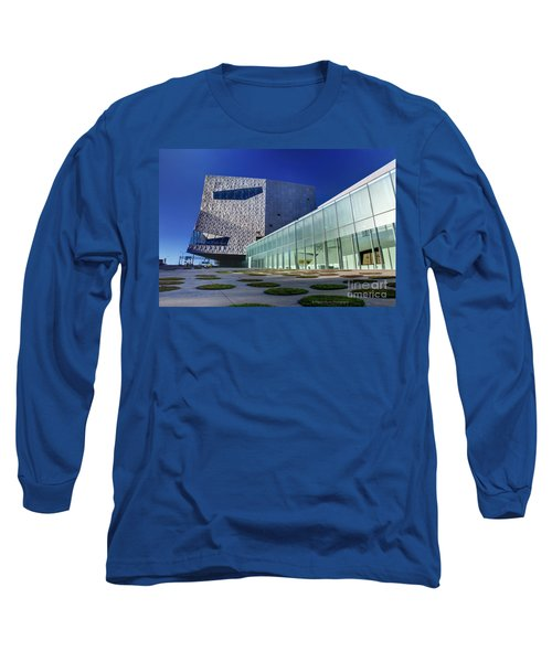 Minneapolis Skyline Photography Walker Art Museum Long Sleeve T-Shirt