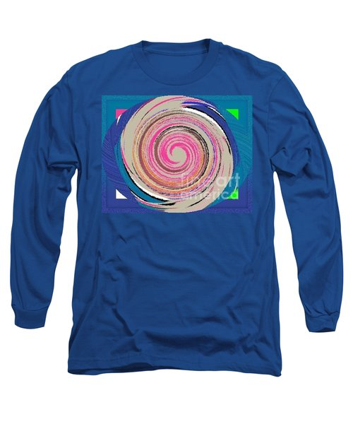Long Sleeve T-Shirt featuring the painting Mixed by Catherine Lott