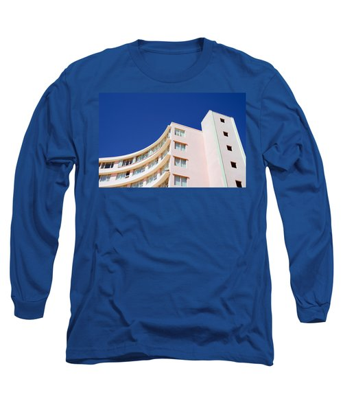 Modern Curves Long Sleeve T-Shirt by Keith Armstrong