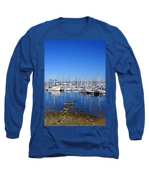 Long Sleeve T-Shirt featuring the photograph Monterey-7 by Dean Ferreira