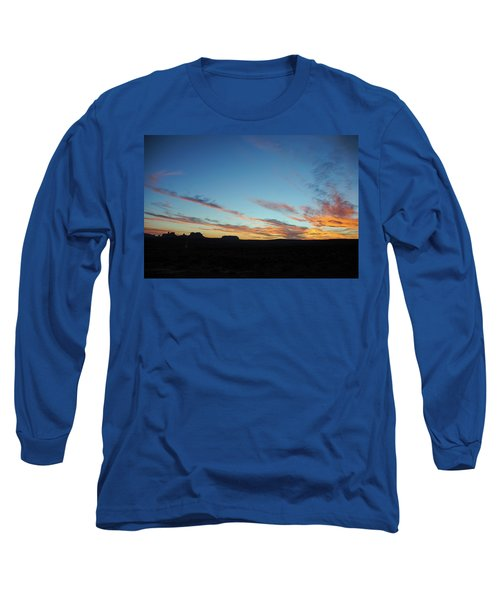 Monument Valley Sunset 2 Long Sleeve T-Shirt