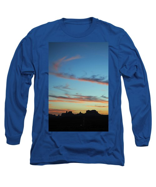 Monument Valley Sunset 3 Long Sleeve T-Shirt