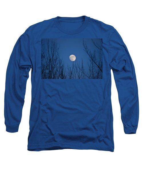 Moonrise Long Sleeve T-Shirt by James Petersen