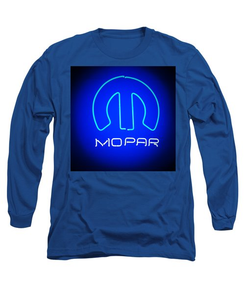 Mopar Neon Sign Long Sleeve T-Shirt