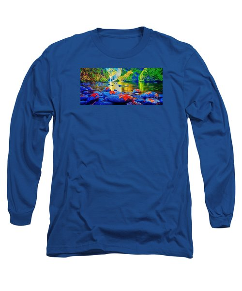 More Realistic Version Long Sleeve T-Shirt by Catherine Lott
