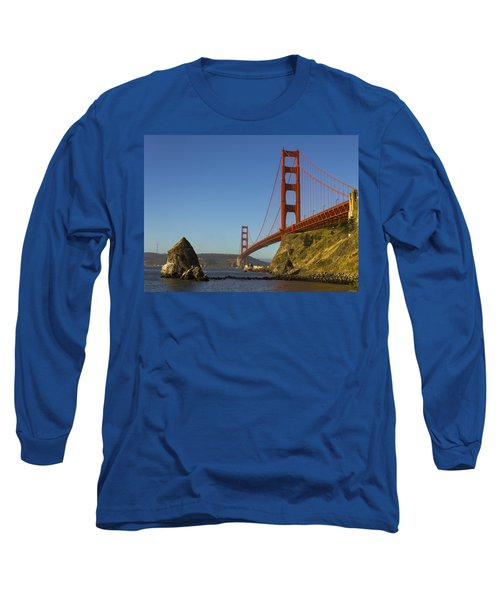 Morning At The Golden Gate Long Sleeve T-Shirt
