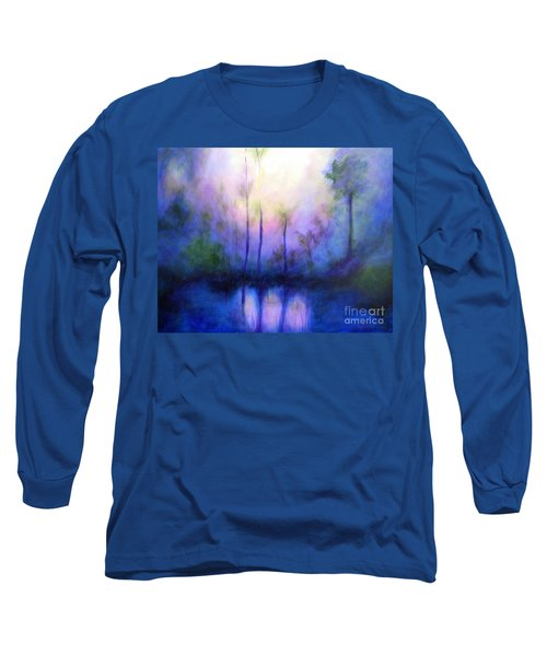 Long Sleeve T-Shirt featuring the painting Morning Symphony by Alison Caltrider