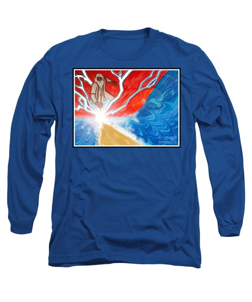 Moses Long Sleeve T-Shirt by Justin Moore