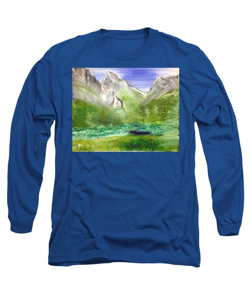Mountain Day Long Sleeve T-Shirt