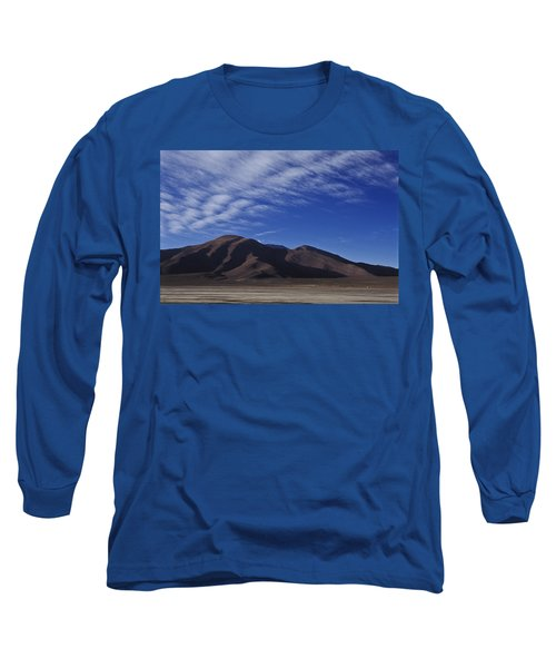 Mountain Long Sleeve T-Shirt by Lana Enderle