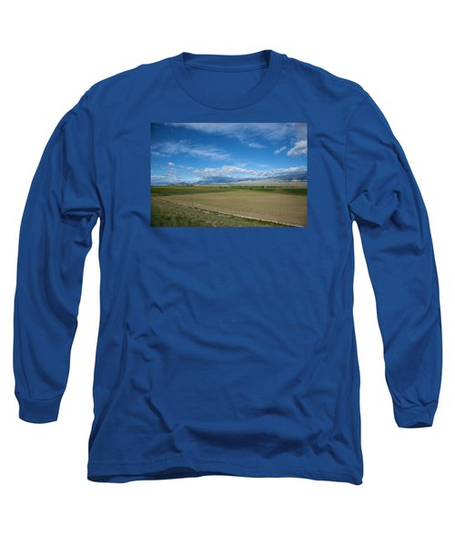 Mountains In The Distance Long Sleeve T-Shirt