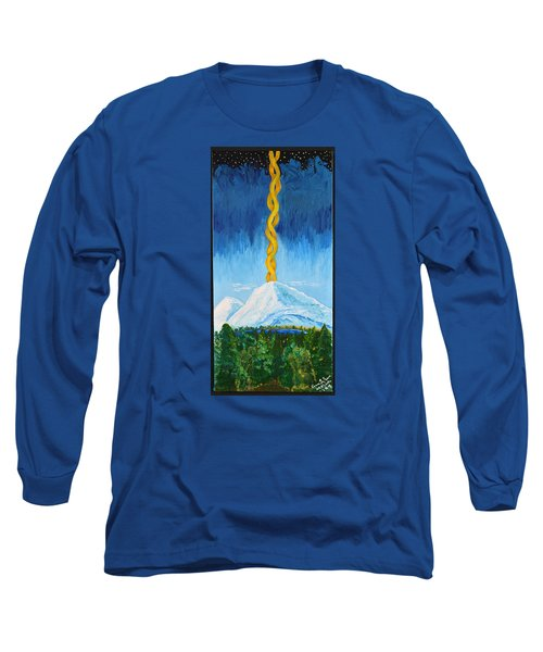 Mt. Shasta Long Sleeve T-Shirt by Cassie Sears