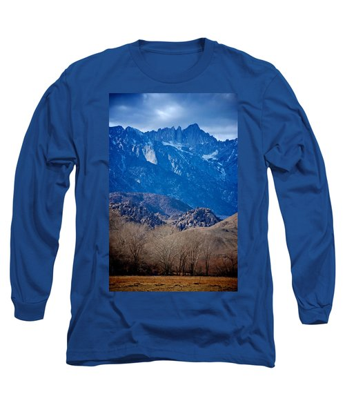 Mt. Whitney And Alabama Hills Long Sleeve T-Shirt by Eric Tressler