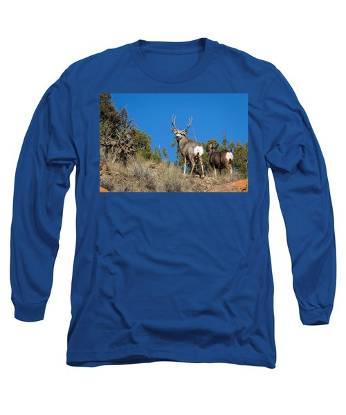 Mule Deer Buck Long Sleeve T-Shirt