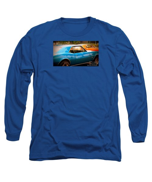 Muscle Long Sleeve T-Shirt by Bobbee Rickard