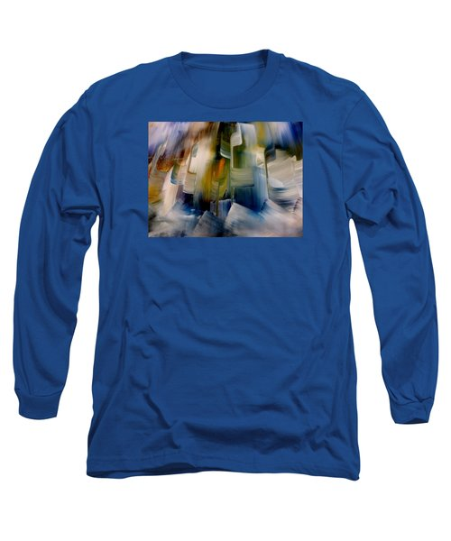 Music With Paint Long Sleeve T-Shirt by Lisa Kaiser