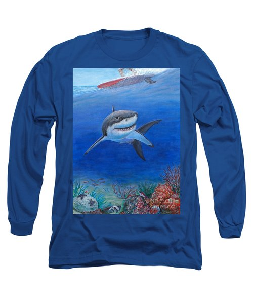 My Pet Shark Long Sleeve T-Shirt