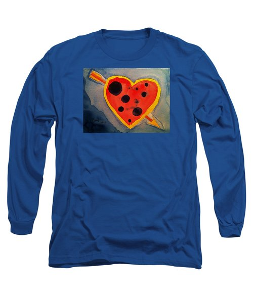Long Sleeve T-Shirt featuring the painting Imperfect Love by Rand Swift