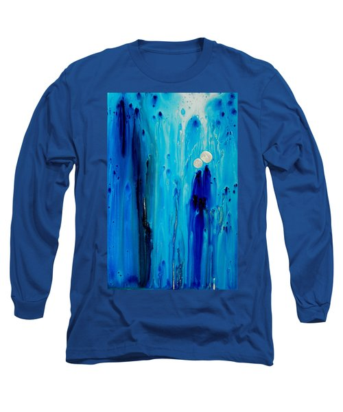 Never Alone By Sharon Cummings Long Sleeve T-Shirt