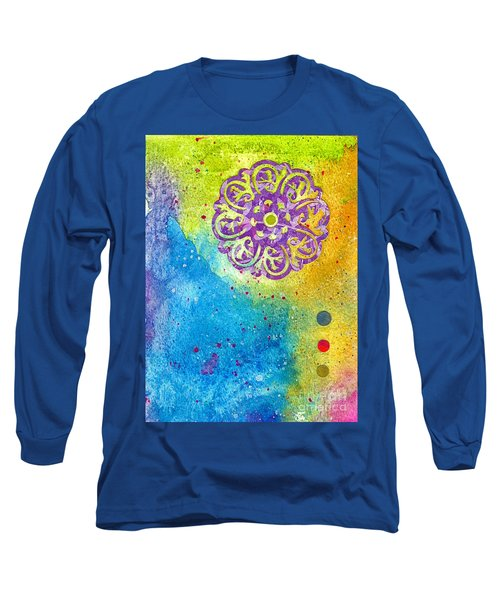 New Age #7 Long Sleeve T-Shirt by Desiree Paquette
