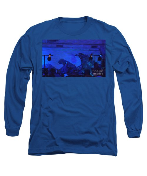 New Riders Of The Purple Sage 5 Long Sleeve T-Shirt by Kelly Awad