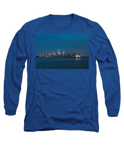 New York Twilight Long Sleeve T-Shirt