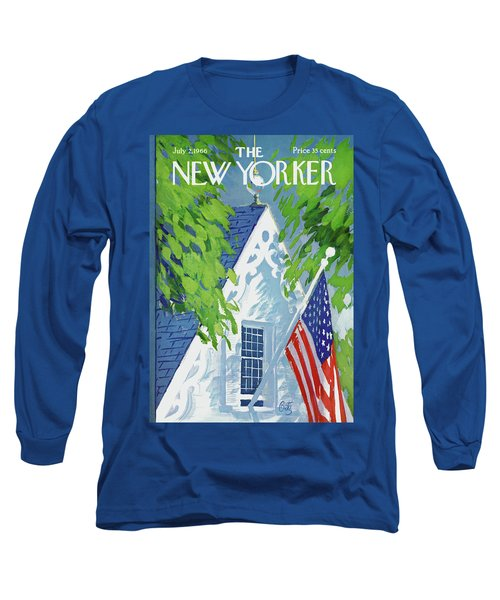 New Yorker July 2nd, 1966 Long Sleeve T-Shirt