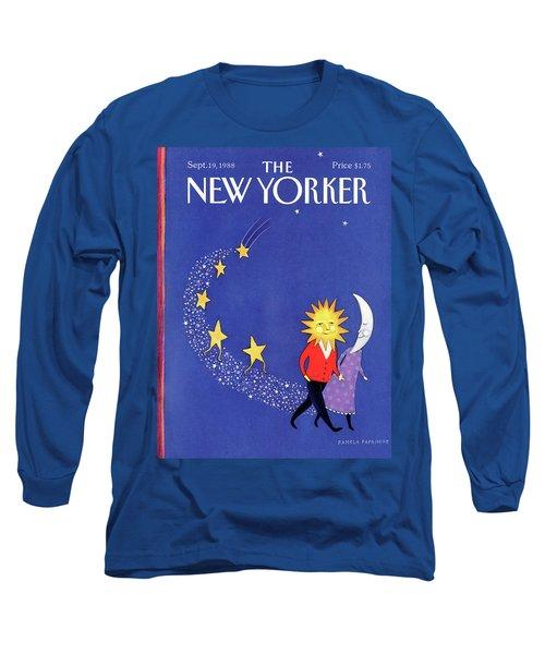 New Yorker September 19th, 1988 Long Sleeve T-Shirt