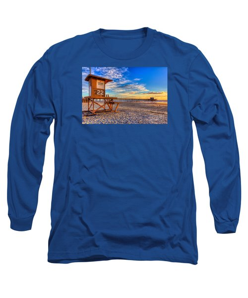 Newport Beach Pier - Wintertime  Long Sleeve T-Shirt