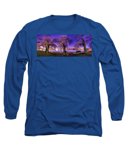 Night Blossoms 2014 Long Sleeve T-Shirt