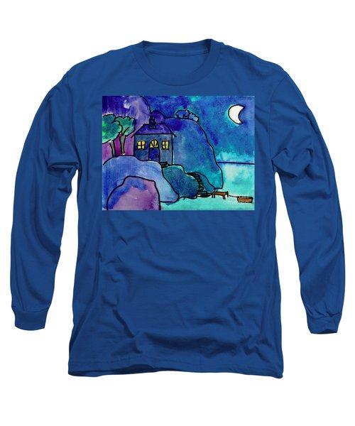 Night Harbor Long Sleeve T-Shirt