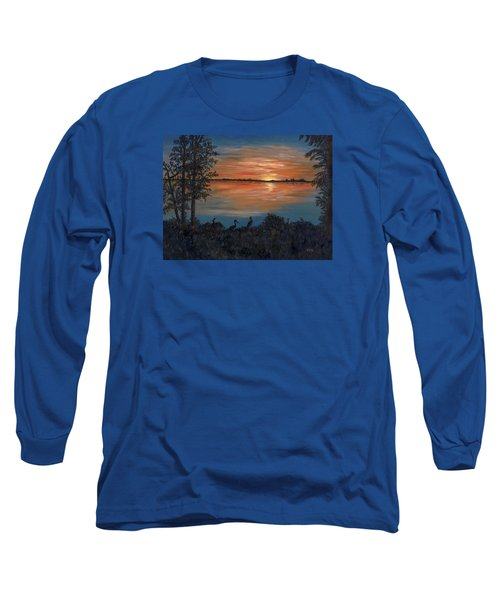 Nightfall At Loxahatchee Long Sleeve T-Shirt