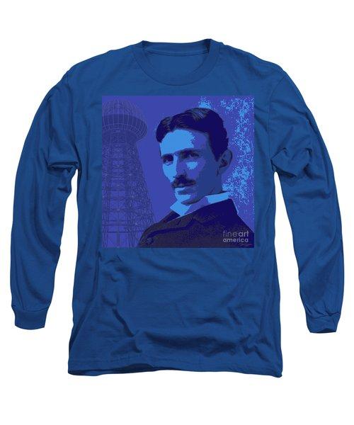 Nikola Tesla #2 Long Sleeve T-Shirt