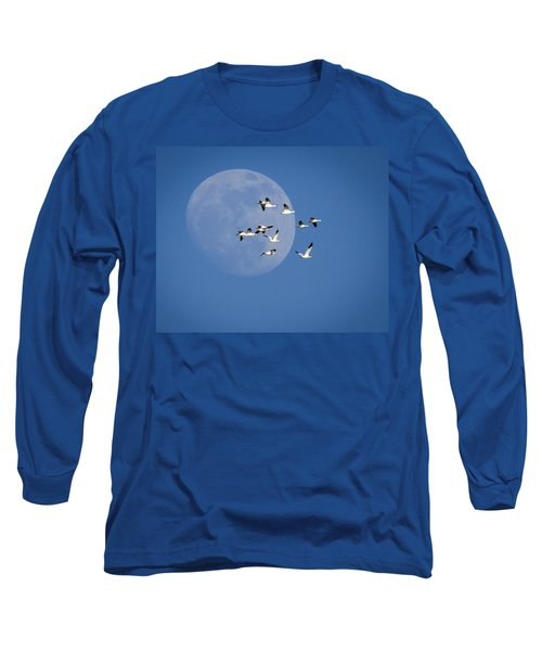 Long Sleeve T-Shirt featuring the photograph North Bound by Jack Bell