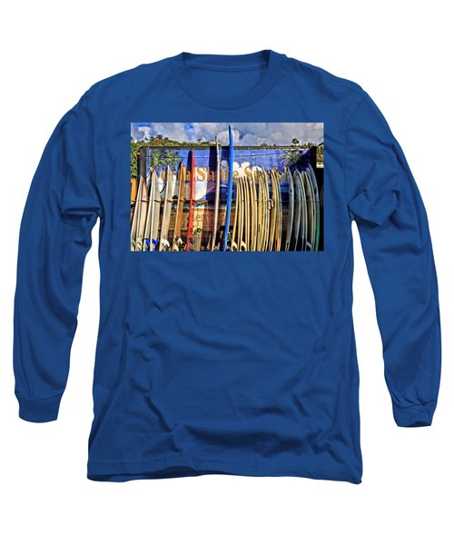 North Shore Surf Shop Long Sleeve T-Shirt