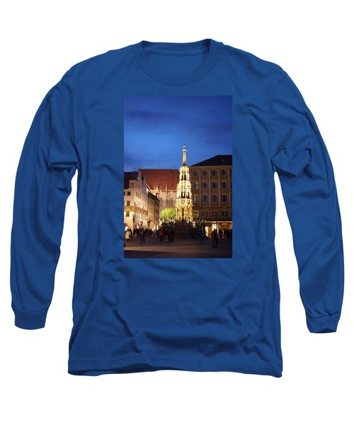 Nuernberg At Night Long Sleeve T-Shirt