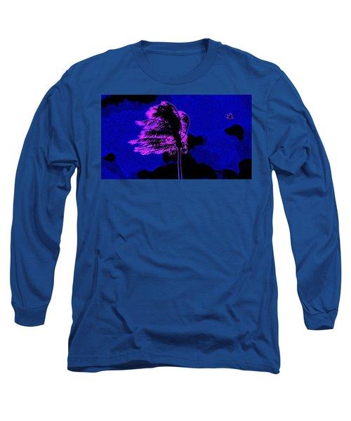 Long Sleeve T-Shirt featuring the painting Ocean Art 111 by David Mckinney